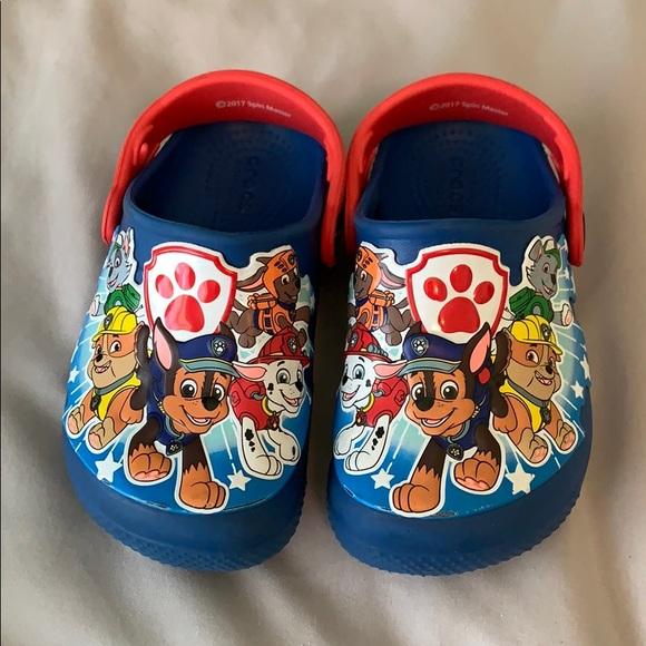 CROCS Shoes | Size 9 Paw Patrol Crocs